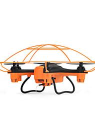 Drone WL Toys 4 Canaux 6 Axes 2.4G Avec Caméra HD 720P Quadri rotor RCEclairage LED Sécurité Intégrée Vol Rotatif De 360 Degrés Flotter