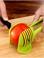 Lemon Slice Tomato Slicer Circle Machine Such As Tomatoes Potatoes Kitchen Fruit Servings