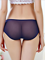 Women Sexy Solid Ultra Sexy PantiesNylon