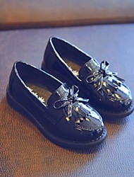 Girls' Loafers & Slip-Ons Spring Fall Moccasin PU Dress Casual Low Heel