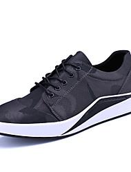 Herren-Sneakers Frühjahr Sommer Komfort Leinwand Outdoor Büro&Karriere athletischen Casual Lace-up zu Fuß