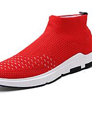 Men's Sneakers Spring Summer Comfort Light Soles Fabric Outdoor Athletic Casual Flat Heel Running