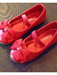 Girls' Flats Comfort PU Casual Flat Heel