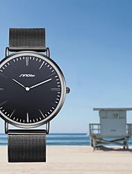SINOBI Masculino Relógio Elegante Relógio de Moda Quartzo Impermeável Resistente ao Choque Lega BandaVintage Pendente Legal Criativo