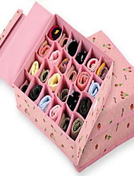 Storage Units Storage Boxes Non-woven withFeature is Lidded , For Underwear Cloth