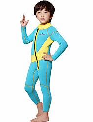 Sports Kid's 2mm Full Wetsuit Breathable Quick Dry Anatomic Design Spandex Neoprene Diving Suit Long Sleeve Diving Suits-Swimming Diving