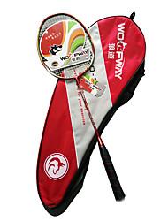 Badmintonschläger Geringe Windlast Dauerhaft Leichtes Gewicht Ein Paar für Drinnen Draußen Leistung Training Legere Sport