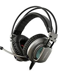 Xiberia v10 Spielkopfhörer mit Mikrofon Computer Kopfhörer mit mic PC Gamer usb geführtes Spielkopfhörer Stirnband