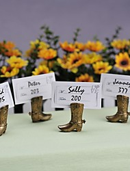 Cowboy Boot Place Card Holder Beter Gifts® Wedding Decoration