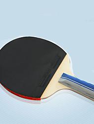 Ping Pang/Tabela raquetes de tênis Ping Pang/Bola de Ténis de Mesa Ping Pang Borracha Cabo Comprido Espinhas2 Raquete 3 Bolas para Tênis