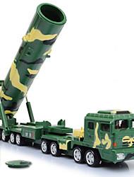 Véhicule Militaire Jouets Jouets de voiture 1:64 Métal Plastique Cyan Vert Maquette & Jeu de Construction