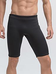 Homme 3mm Short de Combinaison Respirable Design Anatomique Néoprène Tenue de plongée Cuissard  / Short-Plongée Eté Classique