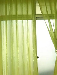 One Panel Curtain Modern  Solid Bedroom Polyester Material Sheer Curtains Shades Home Decoration For Window 140*260