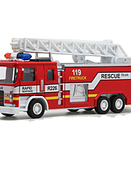 Fire Engine Vehicle Toys 1:32 Metal Plastic Red