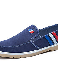 Sneakers Frühjahr Sommer Herbst Winter Komfort Mikrofaser Stoff Büro&Karriere Casual Flat Ferse schwarz blau braun gelb zu Fuß