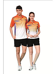 Ensemble de Vêtements/Tenus(Vert Rouge Bleu Orange) -Badminton-Homme-Respirable Confortable