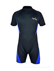 Homens 3mm Roupas de mergulho Impermeável Compressão Filtro Solar Neoprene Fato de Mergulho Manga Curta Roupas de Mergulho-Mergulho Surfe