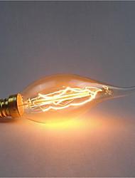 Ac220-240v e14 c35 40w reflet décoration rétro source lumineuse 1pcs