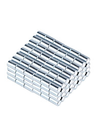 3.2*5mm Strong Small Size Columniform NdFeB Magnets - Silver (1000 PCS)