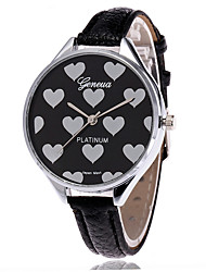 Fashion Love Heart Watch Casual Women Wrist Watches Vintage Leather Quarzt Watches Relogio Feminino