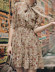 South Korea over the United States printing elegant dress romantic aesthetic Paul