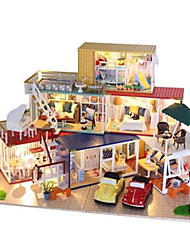 DIY KIT Dollhouse Leisure Hobby House