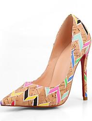 sapatos clube conforto partido pu saltos primavera queda das mulheres&noite casual vestido