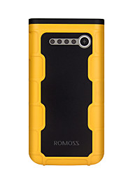 ROMOSS® 12000mAh Power Bank external battery Multi-Output with Cable