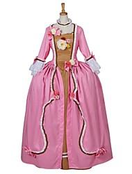Costumes de Cosplay Bal Masqué Princesse Conte de Fée Déesse Fête / Célébration Déguisement d'Halloween Couleur Pleine Lolita Robe