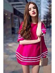 grandes femmes européennes et américaines&# 39; automne robe de marque de mode