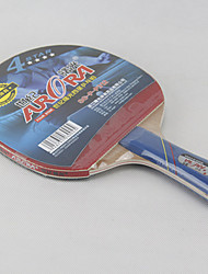 4 Stars Table Tennis Rackets Ping Pang Wood Long Handle Pimples Indoor Performance-Other