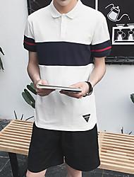 Sommer neue Männer&# 39; s Kurzarm T-Shirt Polohemd m Aberdeen Wind