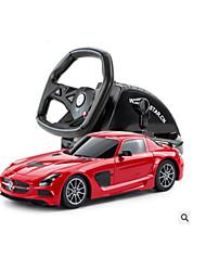 Carro Corrida 50160 1:14 Electrico Não Escovado RC Car 30 2.4G Vermelho Pronto a usarCarro de controle remoto Controle Remoto/Transmissor