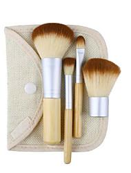 4.0 Sistemas de cepillo Cepillo para Colorete Pincel para Sombra de Ojos Pincel para Labios Cepillo Corrector Cepillo para Polvos Pelo