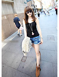 New spring and summer European style sexy halter cross lace camisole small bottoming
