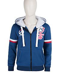 Cosplay Costume  Soldier Blue Sweater Jacket  Cosplay Adult Cosplay Fleece Jacket