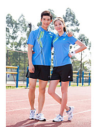 Unisex Soccer Clothing Sets/Suits Breathable Comfortable Spring Summer Fall/Autumn Winter Solid Polyester Badminton Football/Soccer