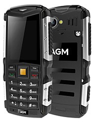 AGM M1 2.0 Inch Rugged Phone IP68 Waterproof Shockproof Dustproof 2570mAh Long Standby Speaker Flash LED Light GPS