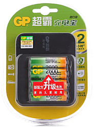GP AA/AAA Chargers 4 Pack  100-240/2.8V