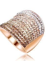couleur gradient de diamant de soirée de mariage large déclaration sonne quelques bijoux multi-deux 1pc