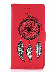 Pour Porte Carte Portefeuille Avec Support Clapet Relief Motif Magnétique Coque Coque Intégrale Coque Brillant Dur Cuir PU pour SamsungS8