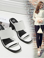 Women's Sandals Comfort PU Casual Low Heel