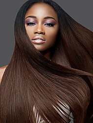T1B Black Glueless Human Virgin Hair Lace Wigs 8-26 Inch Soft Silky Straight Lace Wigs With Baby Hair