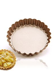 DIY Mini pie cake pan 4 inch removable bottom design Non stick pan for cake FDA