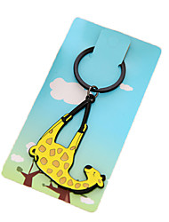 Key Chain Key Chain Yellow Plastic