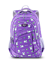 Kids Backpack Canvas All Seasons Casual Bucket Zipper