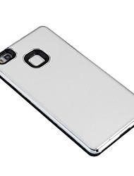 Pour Plaqué Coque Coque Arrière Coque Couleur Pleine Dur Polycarbonate pour Huawei Huawei P9 Lite Huawei P8 Lite Huawei Honor 5A