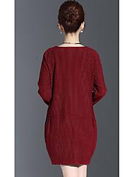 outono de grandes dimensões mulheres vestido novo irmã de gordura outono mm2016 gordura era camisa primer outono maré fina