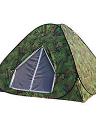 1 Pessoa Único Um Quarto Barraca de acampamentoEquitação Campismo Viajar-Camuflagem