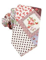 Korean Version Of The Floral Men's Tie